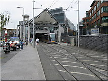 O1634 : LUAS tram at Connolly station by Dr Neil Clifton