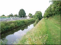 N7741 : Royal Canal at Enfield Station, Co. Meath by JP