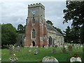 TM2887 : St Mary Denton by Keith Evans