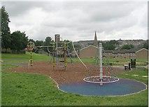 SE0824 : Play Area - Savile Park by Betty Longbottom