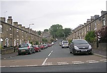 SE0824 : Emscote Grove - Haugh Shaw Road by Betty Longbottom