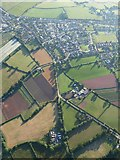 SX9896 : Dog Village and Broadclyst from the air by Derek Harper