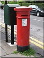 NZ2566 : Victorian postbox, Osborne Road / Sanderson Road by Mike Quinn