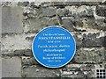 Photo of John Stansfeld blue plaque