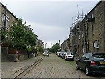 SE0824 : Clover Hill Terrace - Free School Lane by Betty Longbottom