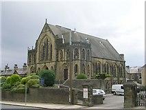 SE0824 : Heath United Reformed Church - Free School Lane by Betty Longbottom