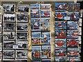 SX0144 : Postcards at Mevagissey by Derek Harper