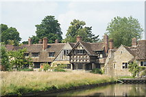 TQ4745 : Hever Castle Village, Kent by Peter Trimming