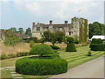 TQ4745 : Gardens at Hever Castle, Kent by Peter Trimming