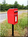 TM3865 : Dorley's  Corner Postbox by Geographer