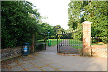 TG1908 : The entrance to Earlham Park by N Chadwick