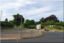TG1807 : Road to Norwich Research Park off Earlham Rd by N Chadwick