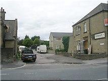 SE1527 : Wroe Place - Huddersfield Road by Betty Longbottom