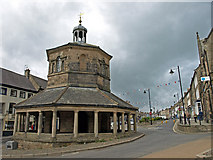 NZ0516 : Butter Market, Market Place, Barnard Castle by wfmillar