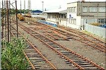 J3271 : Former goods yard, Adelaide, Belfast by Albert Bridge
