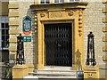 SP5006 : Doorway to the office by Bill Nicholls