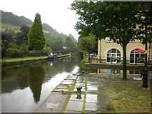 SD9927 : Rochdale Canal by Alexander P Kapp