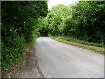 TQ5959 : Up hill, Exedown Road by Chris Gunns