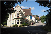 TR0753 : The Woolpack Inn, Chilham by Oast House Archive