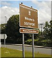 SD3615 : Welcome to Southport by Gerald England