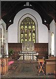 TM0890 : St Martin's Church - the chancel by Evelyn Simak