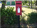 TM3066 : Framlingham Road Postbox by Adrian Cable