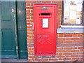 TM2863 : Riverside Post Office George V Postbox by Adrian Cable
