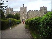 TM2863 : Framlingham Castle by Tim Marchant