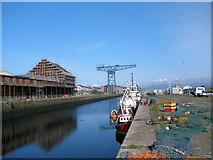 NS2975 : James Watt Dock Greenock by John Ferguson