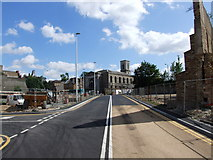 TQ7567 : New road development in Chatham by Chris Whippet