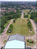SU9850 : Looking West From Guildford Cathedral Tower by Colin Smith