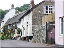 SY1988 : Cottages, Branscombe by Maigheach-gheal