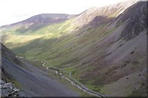 NY2114 : Honister Pass by James T M Towill