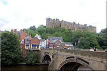 NZ2742 : Durham Castle from The Terrace by John Firth