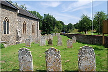 TG1807 : Churchyard, St Andrew's Church, Colney by N Chadwick