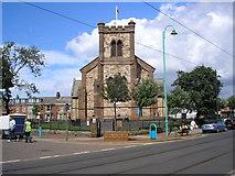SD3347 : St. Peter's Church, Fleetwood, Lancashire by Dr Neil Clifton