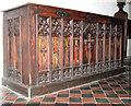 TM2887 : St Mary's church - the Denton chest by Evelyn Simak