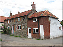 TM0890 : Cottages in Marsh Lane by Evelyn Simak