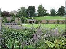 NZ1221 : Walled garden at Raby Castle by Carol Walker