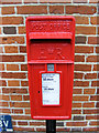 TM3464 : Corner Cottage Postbox by Geographer