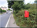 TM4069 : A12 Main Road, Darsham & The Station Postbox by Adrian Cable