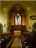 SE1223 : The Parish Church of St Anne in the Grove, Southowram, Nave by Alexander P Kapp