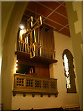 SE1223 : The Parish Church of St Anne in the Grove, Southowram, Organ by Alexander P Kapp