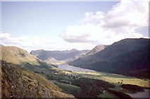 NY1618 : Buttermere from The Rannerdale Knotts by Derek Voller