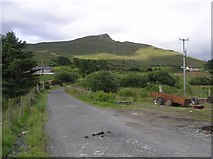 C3643 : Road at Clonmany by Kenneth  Allen