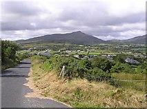 C3945 : Road at Gortaran by Kenneth  Allen