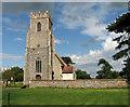 TM3493 : St Michael's church by Evelyn Simak