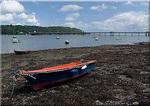 SH5873 : Garth Beach, Bangor by Paul Harrop
