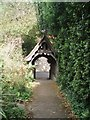 TV4899 : Lych Gate from St. Peter the Apostle Church by Paul Gillett