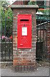 TM0595 : George VI postbox by Evelyn Simak